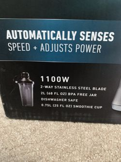 NEW/UNOPENED Calphalon Auto Speed Blender Thumbnail
