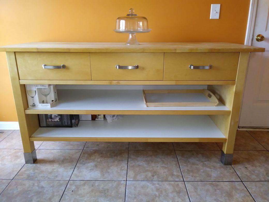 Ikea Varde Kitchen Island W Drawers For Sale In Simpsonville Sc Offerup