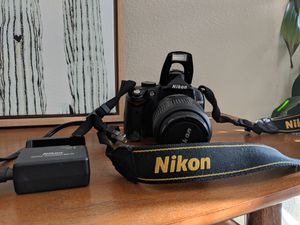 Nikon D5000 DSLR Camera with Video and 18-55mm VR lense for Sale in Oceanside, CA