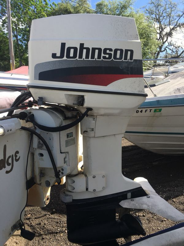 1998 Johnson 60 outboard for Sale in Tarpon Springs, FL - OfferUp