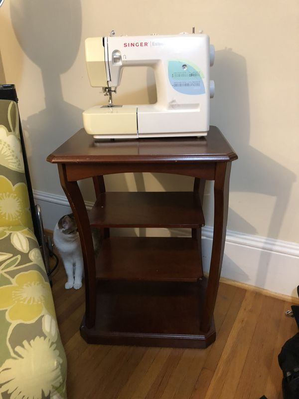 Side Table For Sewing Machine Sold In Huntersville Nc Offerup