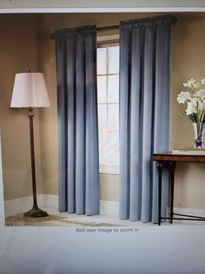 Blackout curtain panels (2) for Sale in Alexandria, VA