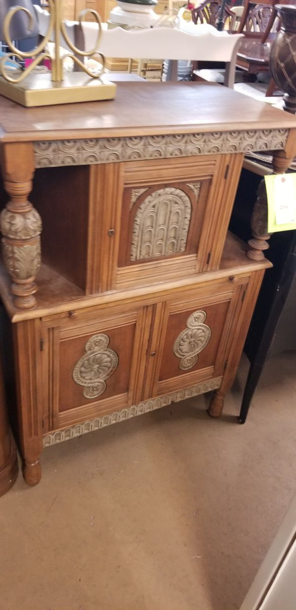Antique Liquor Cabinet Humidor We Are Located At 2811 E Bell Rd In The Front Building J K Furniture Another Time Around