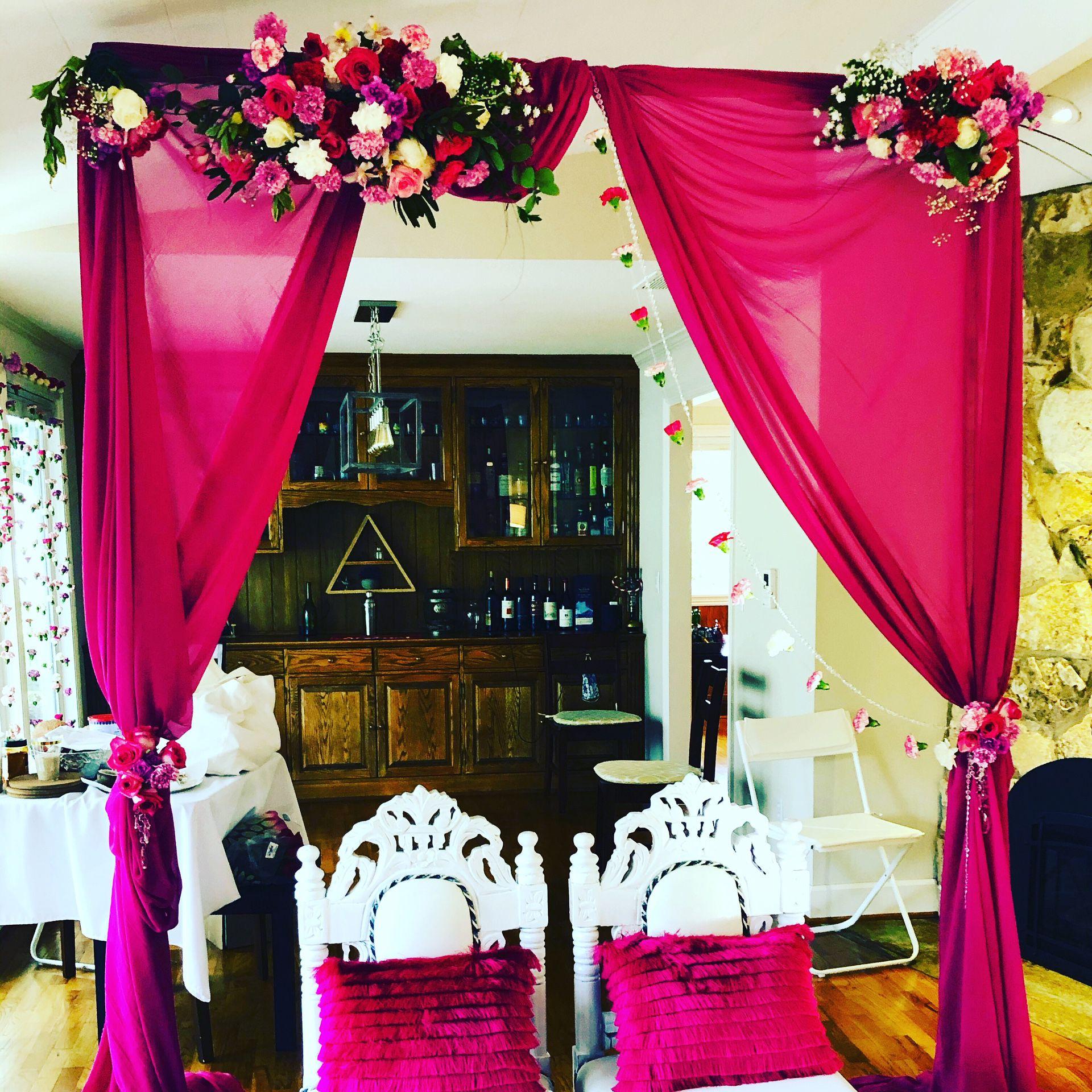 Wedding Bride Groom Chairs Set Of 6