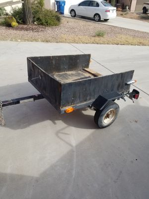 Small light weight trailer has good tires and working lights for Sale in Mesa, AZ