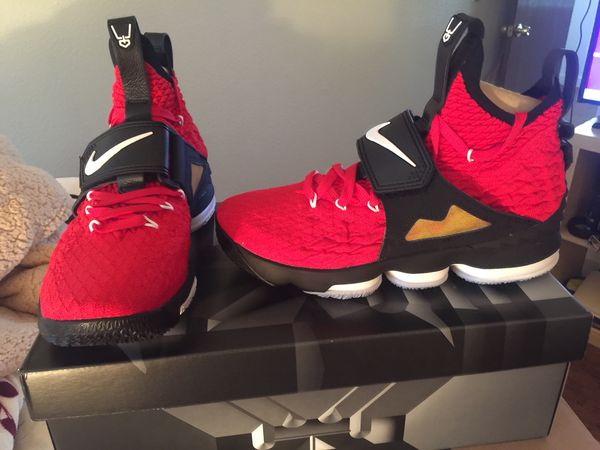 los angeles 71050 6ec51 Lebron 15 Red Diamond Turf for Sale in Oakland, CA - OfferUp