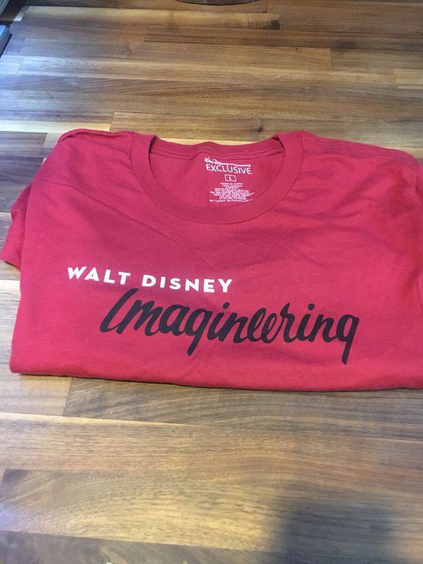 Walt Disney Imagineering Exclusive T Shirt For Sale In Riverside Ca
