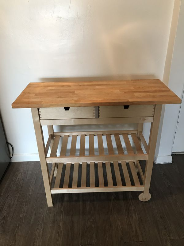 IKEA moving Kitchen Island Cart for Sale in Los Angeles, CA - OfferUp