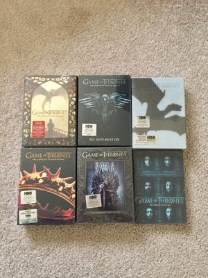 Game of Thrones dvd season 1-6, new, original sealed for Sale in Alexandria, VA