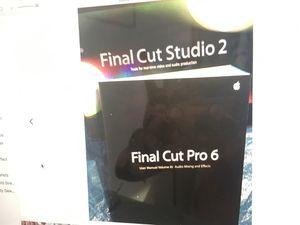 FINAL CUT STUDIO 2 PRO APPLE ACADEMIC VERSION for Sale in Manhattan Beach,  CA - OfferUp