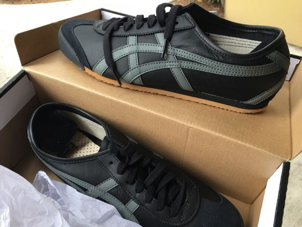 free shipping 95e88 28dd1 Onitsuka Tiger - Mexico 66 - 10.5 - Black/Grey for Sale in Seattle, WA -  OfferUp