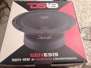 8 inch ds18 speakers for Sale in Ocoee, FL
