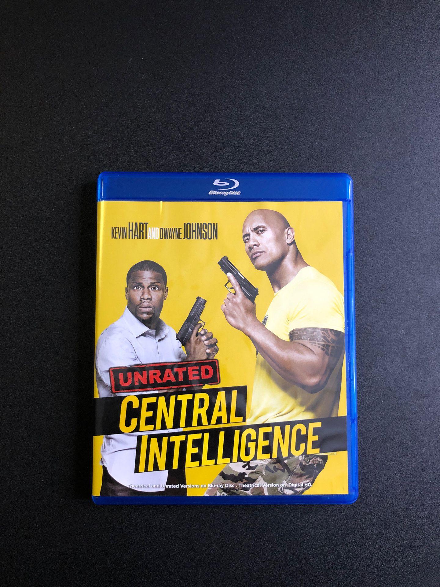Central Intelligence Movie (Blu-Ray)