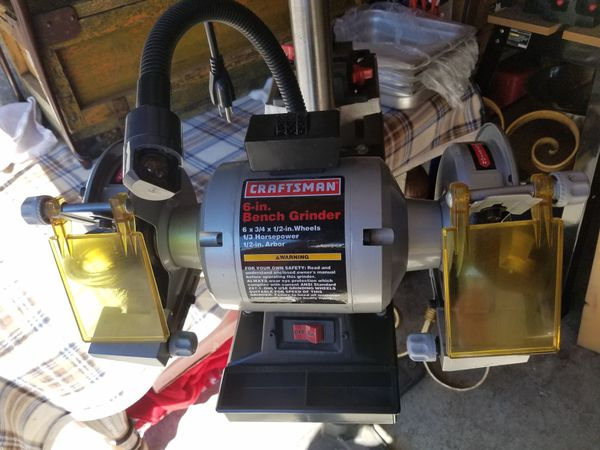 Miraculous Craftsman 6 In Bench Grinder For Sale In Kirkland Wa Offerup Ibusinesslaw Wood Chair Design Ideas Ibusinesslaworg