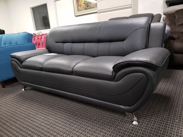 Superb Michael Sofa Black Leather Fabric Leatherette For Sale In Ocoug Best Dining Table And Chair Ideas Images Ocougorg