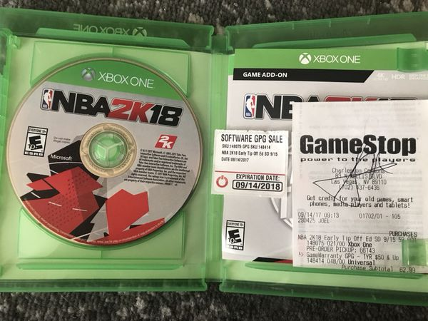 NBA 2K18 (Xbox One) for Sale in Las Vegas, NV - OfferUp