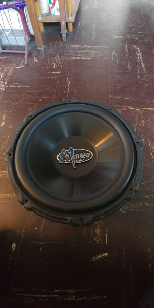 """Menace AUDIO. 15"""" 1350 w max 500 w for Sale in Silver Spring, MD"""
