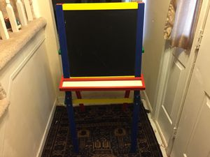 Wooden easel and chalk board for Sale in Manassas, VA
