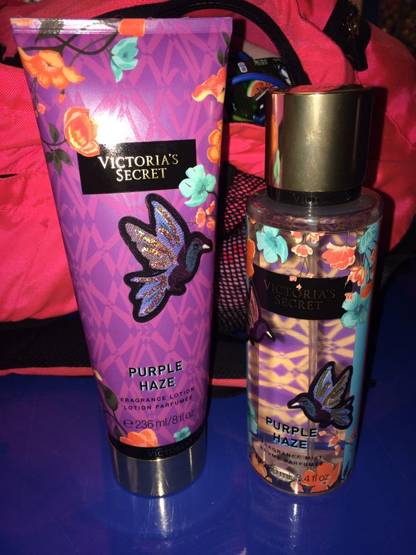 7b71de0a6cf Purple Haze Victoria Secret Perfume And Lotion for Sale in Pawtucket ...