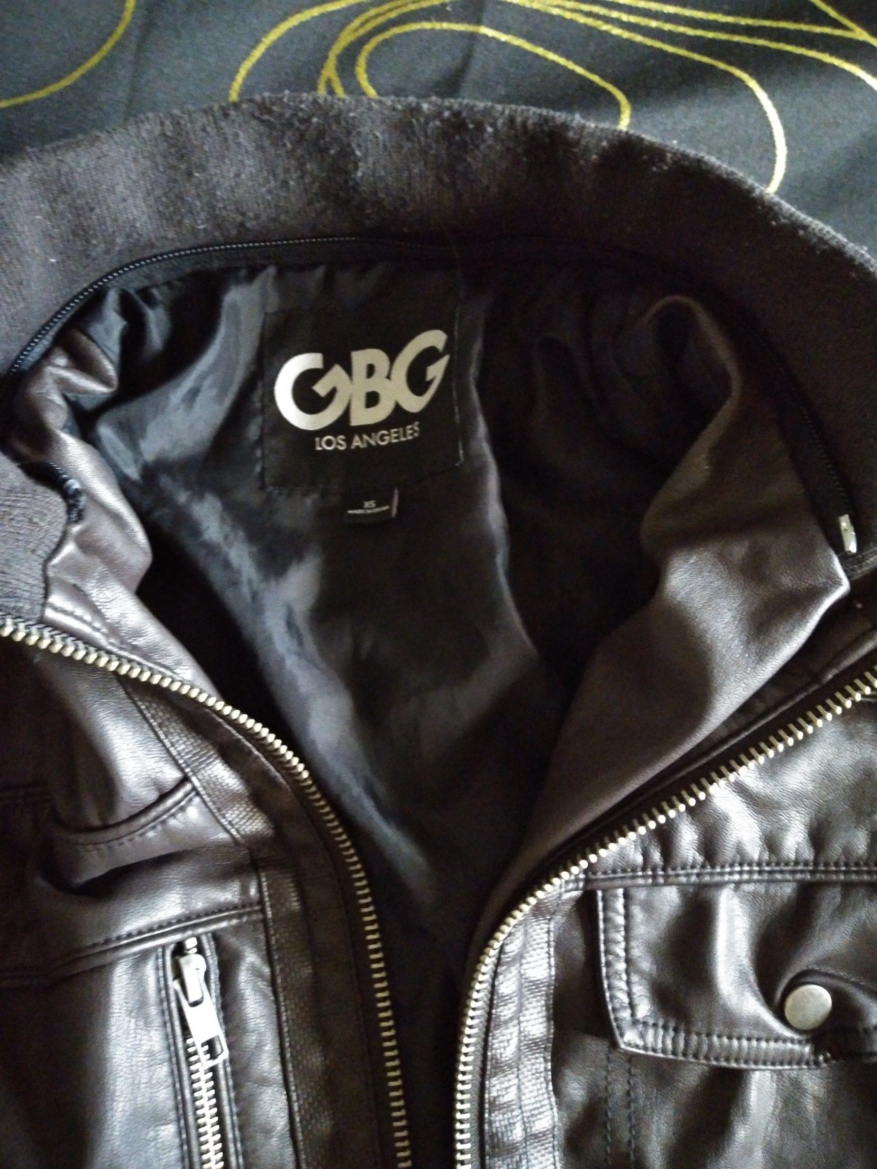 GBG Faux Leather Jacket
