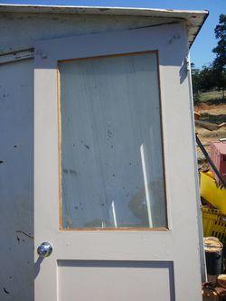 Door with glass Thumbnail