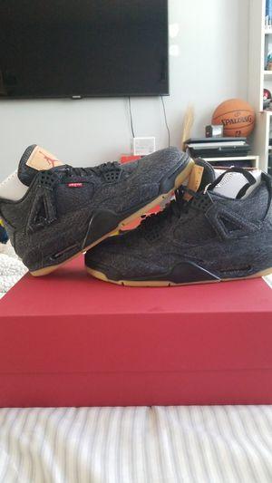 c8a1b76c6fee DS Air Jordan 4 Levi s Black Denim size 9.5 for Sale in Hacienda Heights