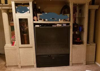 Free, Entertainment Wall Unit Without Tv Thumbnail