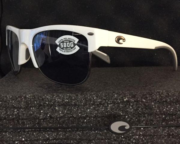 861f259d8e Pawleys Brand New Costa Sunglasses White Frames for Sale in Daytona ...