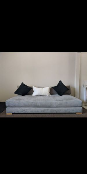 CB2 Piazza Sofa in grey for Sale in Los Angeles, CA