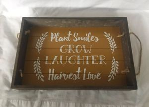 Plant Grow Harvest Tray Snacks or Breakfast Serving Tray for Sale in Union City, CA
