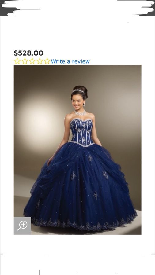 d290fbc997b Quinceanera  Prom Navy Blue Dress for Sale in San Jose