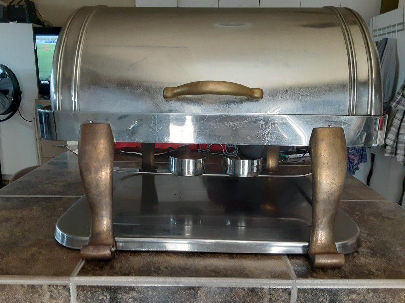 Antique Heavy Duty Food Warmer