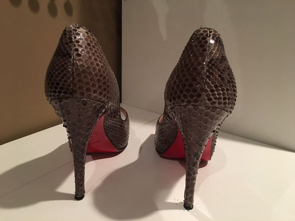 quality design fc59e ab7a3 CHRISTIAN LOUBOUTIN Python Snake Skin Pumps for Sale in Riverview, FL -  OfferUp