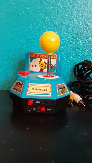 Photo Namco ms.pac man joy stick plug and play!