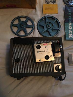 Kodak brownie 8 movie projector for Sale in Nashville, TN