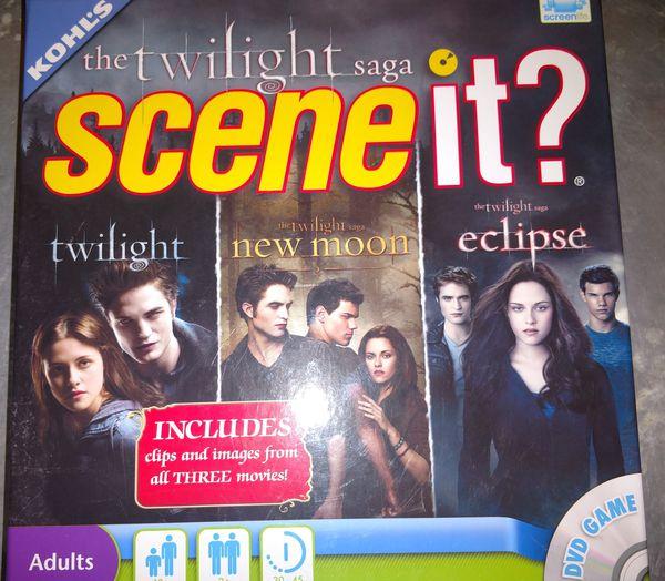 Twilight Scene It? DVD Game