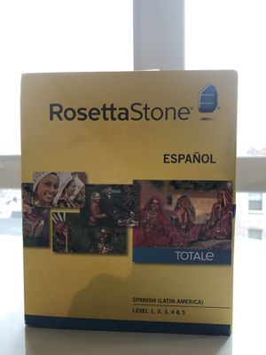 Spanish Rosetta Stone levels 1-5 NIB for Sale in Portland, OR