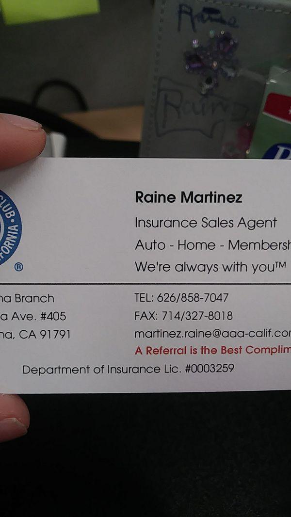 AAA/ROADSIDE ASSISTANCE for Sale in West Covina, CA - OfferUp