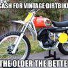 Vintage Motorcycles/bicycles