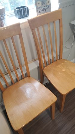 Wooden chairs Thumbnail