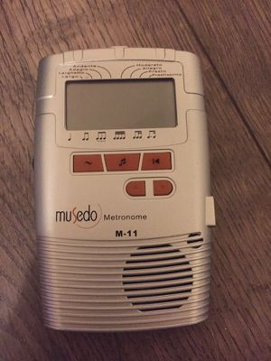 Metronome with Free Cabasa, used for sale  Broken Arrow, OK