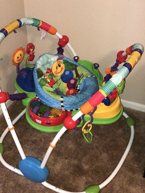24fc7a511 Baby Einstein Neighborhood Friends Activity Jumper for Sale in ...