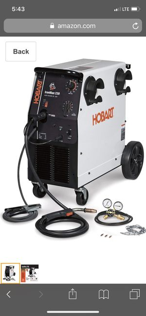 Hobart Ironman 230 welder for Sale in Washington, DC