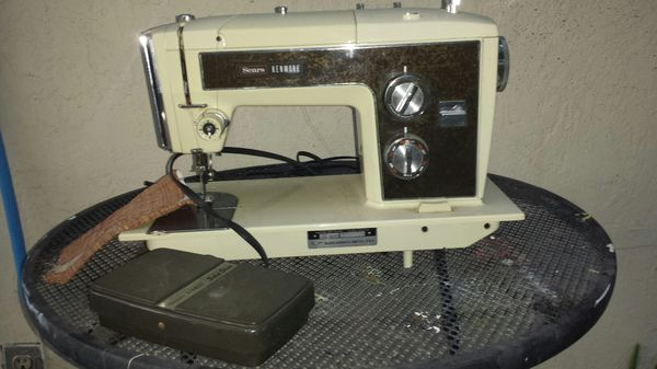 Vintage Sears Kenmore Sewing Machine Appliances In Pittsburg CA Amazing Sears Ca Sewing Machines