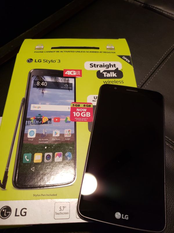 LG STYLO 3 (straight talk) for Sale in Ellenwood, GA - OfferUp