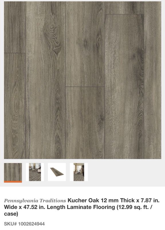 Pennsylvania Traditions Kucher Oak 12 Mm Thick X 787 In Wide X
