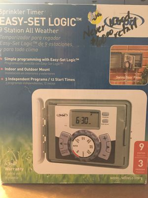 Orbit 9 Station All Weather Sprinkler Timer for Sale in Queen Creek, AZ