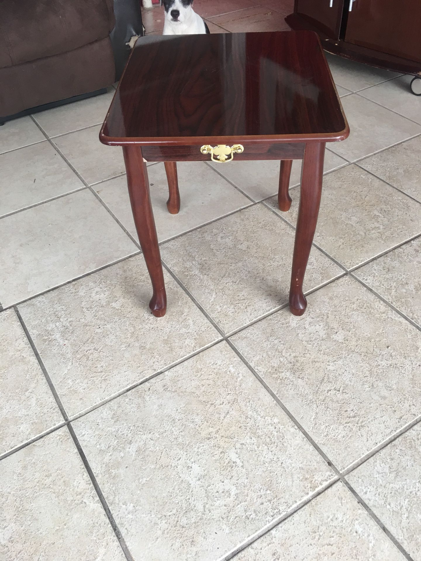 Mesa pequeña