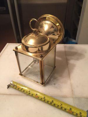 Small brass outdoor light/lamp for Sale in Alexandria, VA