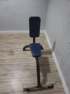 Weight bench upright 90 degree cybex for Sale in Arlington, VA